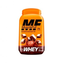 WHEY PROTEIN CONCENTRADO 810g CHOCOLATE MUSCLE FULL