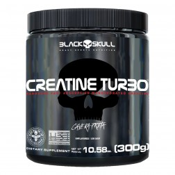 CREATINE TURBO 300g BLACK SKULL