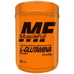 L-GLUTAMINA NATURAL QUALITY 300g MUSCLE FULL