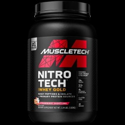 WHEY PROTEIN NT GOLD MORANGO 999KG 2.2LBS MUSCLETECH