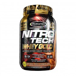 WHEY PROTEIN NT GOLD CHOCOLATE 1.02KG 2.24LBS MUSCLETECH
