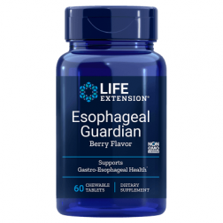 ESOPHAGEAL GUARDIAN 60 COMPRIMIDOS MASTIGÁVEIS LIFE EXTENSION