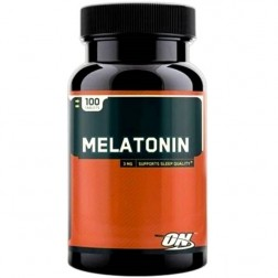 MELATONIN 3mg 100 CÁPSULAS OPTIMUM NUTRITION